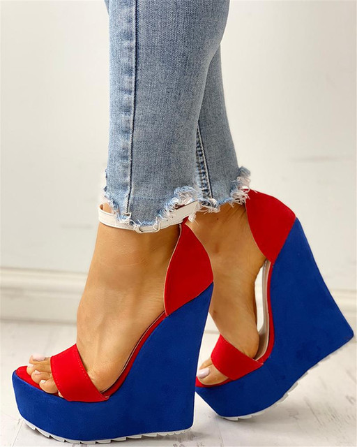 Women's Wedges Summer Party Platform Sandals