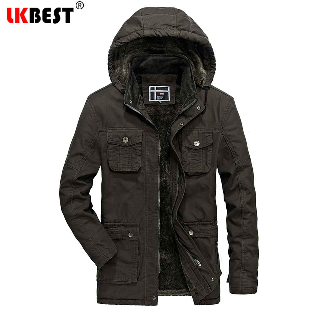 LKBEST 2017 New Arrival Winter Jacket Men Thick Men Winter Coat Brand Hooded Men Parka Thick Warm Outerwear Overcoat (PW637)  2016 new high quality brand men winter cotton down jacket coat parka clothing men and women hooded warm outerwear overcoat
