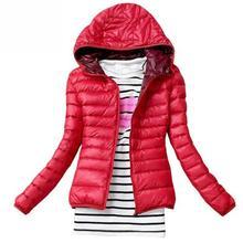 Winter Jacket Women Cotton Down Parka Hooded Women's Coat Ca
