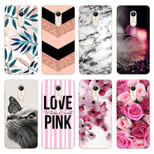 Case For Xiaomi Redmi 5 Soft TPU Silicone Coque for Cover 3D Patterned Capa Bumper Phone