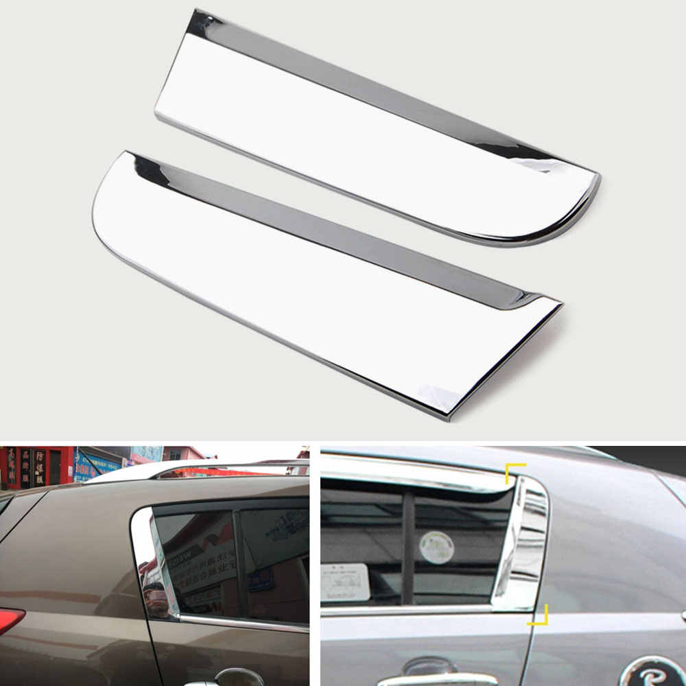 Kia Sportage R Rear Bumper Moulding Trunk Metal Cover For 2011 2012 2013 2014
