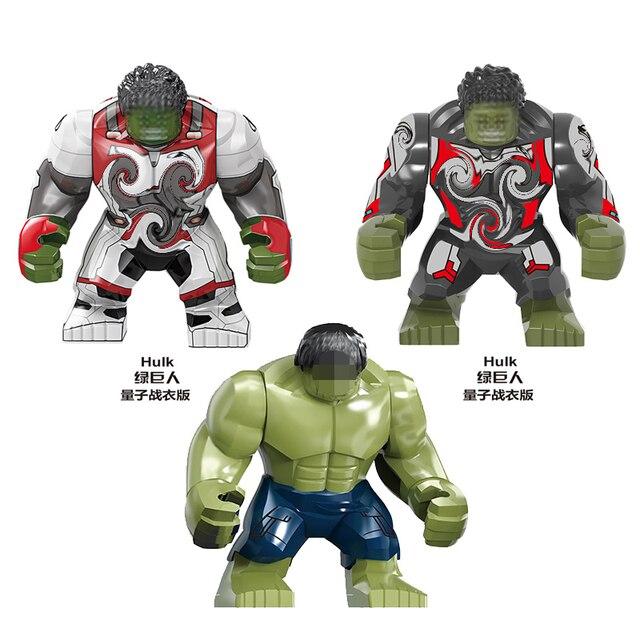 Super-heróis Vingadores SY1313 4 Final KF6076 Espaço Jogo de MINI Brinquedos Figuras Blocos De Construção Da Máquina Compatível