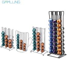 цены на Stainless Steel Metal Nespresso Capsule Coffee Pod Holder Tower Stand Display Rack Storage Capsule Organizer Tool  в интернет-магазинах