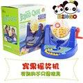 Regalo de cumpleaños del bebé de juguete de plástico de la jaula del bingo juego de mini escritorio de la rifa de lotería juego de diversión familiar entre padres e hijos interactivo educativo