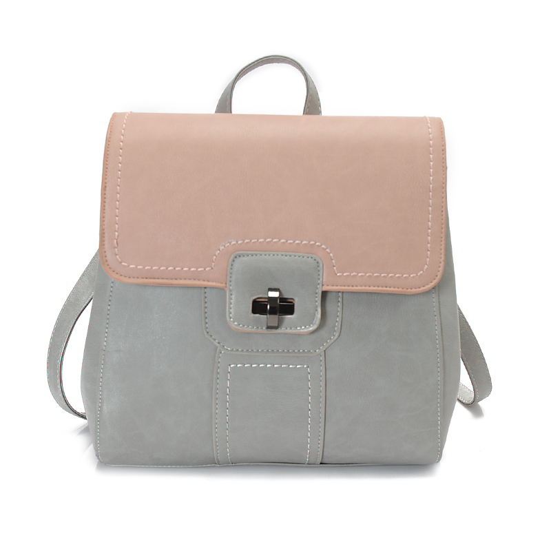 knapsack Double shoulder bag pack 2018 new tide girl backpack spring summer new fashion casual han edition female bag