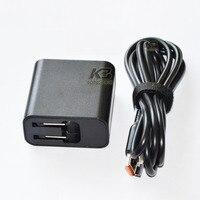 Genuine 40 W 20 V/5 V fonte de Alimentação AC DC Adaptador de Carregador para yoga Lenovo Miix 2 11 ADL40WDJ GX20H34904 ADL40WLA