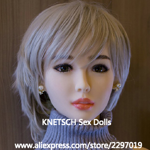 Image 5 - Knetschセックス人形ヘッド高さ140センチメートル〜170センチメートル本物のシリコーン愛人形ヘッドと新セックスのおもちゃ本物の人形ヘッド