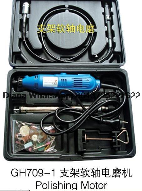 Jewelry/watch polishing kit, Polishing Motor with Hanger