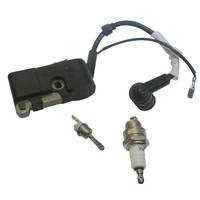On Off Stop Switch Ignition Coil Kit W Spark Plug Fit 45cc 5200 58cc Chain Saw