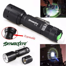world-wind#3011 Zoomable 3500 Lumens 3 Modes new XML T6 LED bicycle Flashlight Torch Lamp Light Outdoor free shipping
