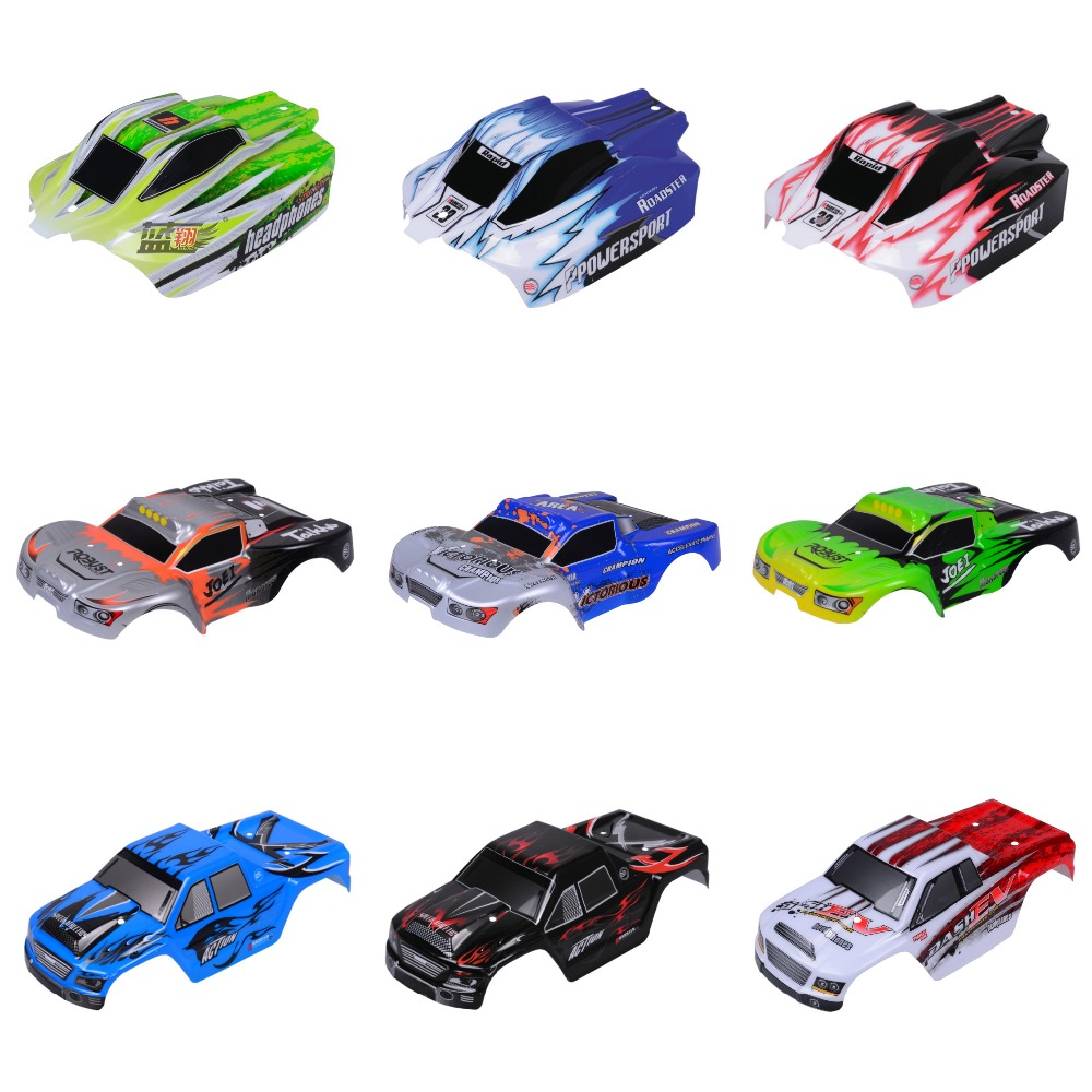 Wltoys RC Car Spare Parts A959-B-01 Body Shell 1:18 Car Shell A969/A979 Car shell PVC explosion-proofhousing body shell Skin