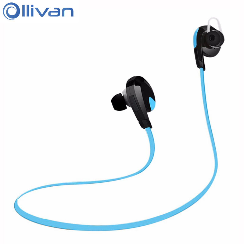 Ollivan H7 Headphones Auriculares Bluetooth Sports Earphone Handfree Stereo Headset 4.1 Wireless Earphones For Phone remax 2 in1 mini bluetooth 4 0 headphones usb car charger dock wireless car headset bluetooth earphone for iphone 7 6s android
