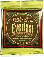 Ernie Ball 2554 Ever Last 80 20 Bronze Medium Acoustic Guitar Strings 013 056