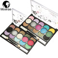 15 colors Eye shadow Diamond Makeup Eyeshadow Palette Naked Smoky Professional Cosmetic With Brush Eye Shadow Maquillage Glitter
