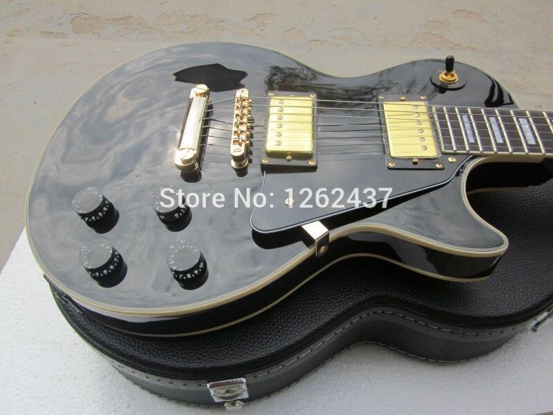 Electric guitar/g lp custom guitar/maple flame top/more color/instock guitar in china