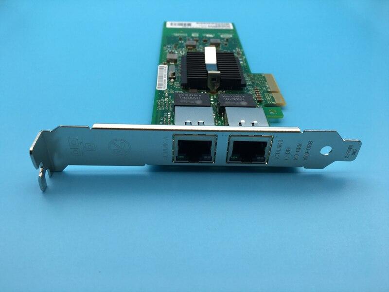 New 82576 Network Card Dual Port Server Gigabit Ethernet PCI E Network Adapter E1G42ET Support ROS