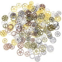 100G/ Lot Jewelry Craft Vintage Cogs Pendant Wrist Watch Mix