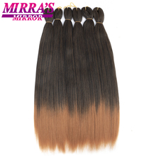Mirras Mirror Jumbo Braids Hair 2026 Ombre Braiding 2 Tones Synthetic Extensions For Crochet Hot Water Set