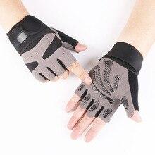 Нескользящая Спортивная перчатка для спортзала Йога Бодибилдинг инструмент Велоспорт обучение дышащий фитнес-браслет на запястье перчатки