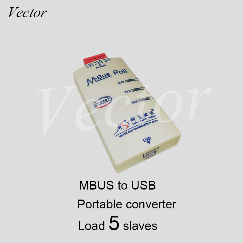 MBUS/M-BUS/Meter-BUS To USB Converter / No Power Supply (5 Load) KH-USB-M5