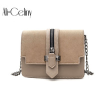 2017 New Fashion Nubuck Leather Women S Mini Handbag Vintage Women S Small Handbag Casual Zipper