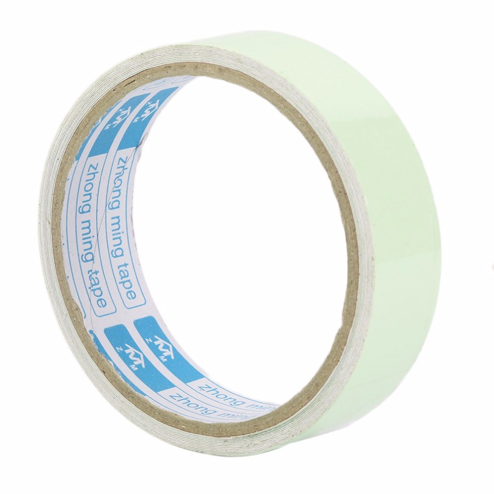 цена на Luminous Tape 3M 25MM Self-adhesive Warning Tape Night Vision Glow In Dark Safety Security Home Decoration Luminous Tapes