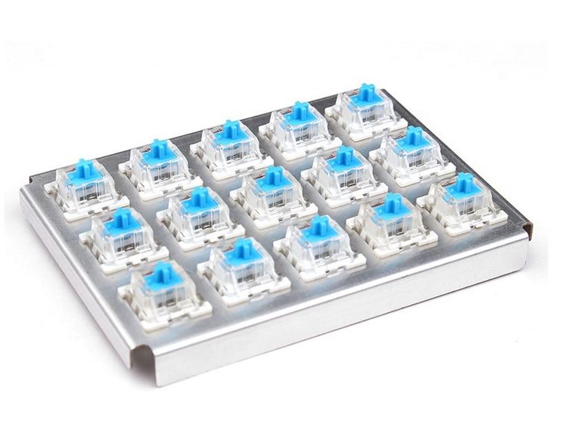 TEAMWOLF Serie CIY Corpo dell'asse Nero Rosso Blu Marrone Sostituzione degli interruttori esterni per tastiera meccanica da gioco