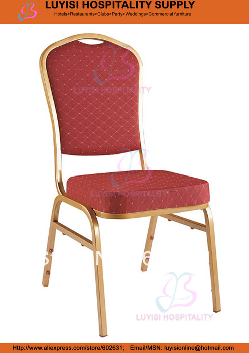 Stacking steel banquet chair LUYISI1030D hot sale stacking steel banquet chair luyisi1039