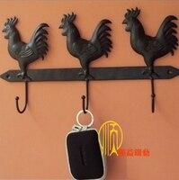 Iron hook hangers coatless wall mount clothes accessories display rack 3