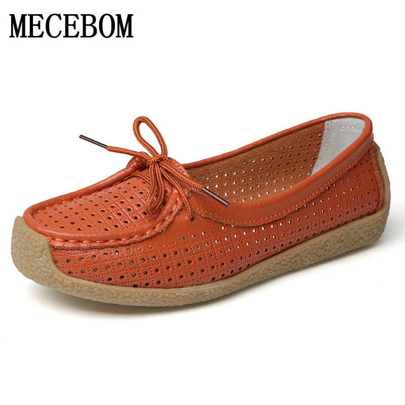 2018 Shoes Woman Leather Women Shoes Flats Colors footwear Loafers Slip On Women's Flat Shoes Moccasins Plus Size ballet 133W 2017 new leather women flats moccasins loafers wild driving women casual shoes leisure concise flat in 7 colors footwear 918w