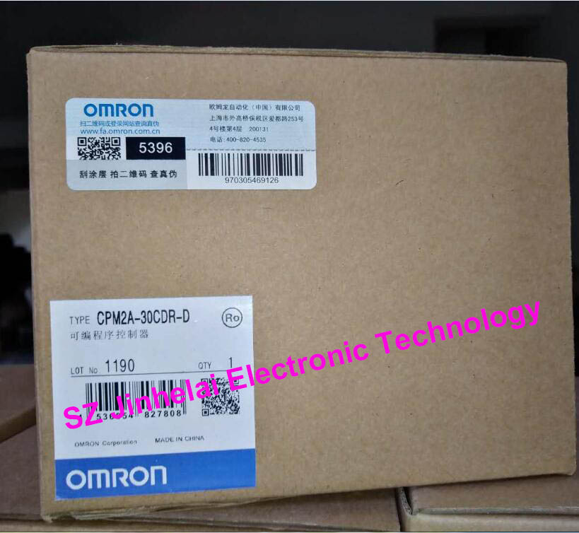 цены New and original CPM2A-30CDR-D OMRON Programmable controller