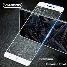 hot deal buy yamizoo protective glass for xiaomi redmi 4x screen protector redmi 4x film 9h full tempered glass on for xiaomi redmi 4x glass