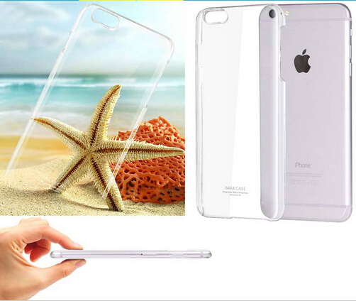 imak Ultra-thin Transparent Crystal Clear Hard Protective case cover for iPhone 6 6s plus Scratch-resistant
