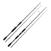 New Lure Fishing Rod 1.8m 2.1m 2.4m 2 Section MH Power Fishing Pole Carbon Fiber Spinning/Casting Travel Rod Fishing Tackle 2 1m cheap spinning fishing rod carbon fiber fishing rod 2 rod slightly ml mh power rod for fishing page 4