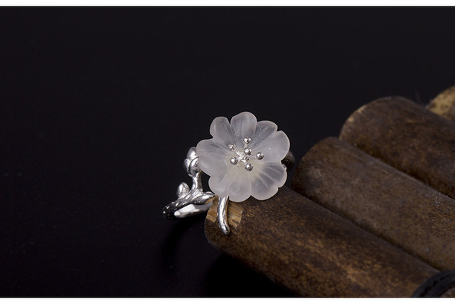Женские открытые кольца из стерлингового серебра 925 пробы с