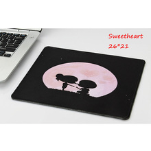 Фотография 7colors 26cm*21cm Lock edge Practical Lovely Skid Resistance Memory Foam Comfort Wrist Rest Support Mouse Pad Mice Pad