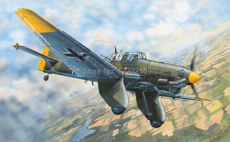 Trumpeter 1/32 Ju-87A Stuka Plastic Model Kit 03213 trumpeter 03214 1 32 junkers ju 87b 2 stuka