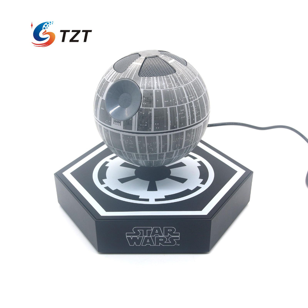 Original Star Maglev Bluetooth Wireless Stereo Rotating 360 Degree Speakers Magnetic Levitation Sound