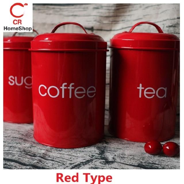 1/3 Pcs/Set Storage Tank SUS 304 Stainless Steel Tea Coffee Sugar Square Box Case Househould Kitchen Utensils Multifunction
