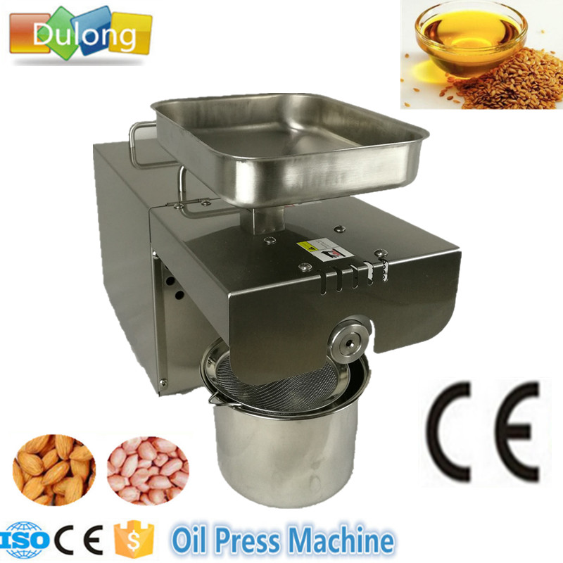 Automatic Oil Press Machine Nuts Seeds Oil Presser Pressing Machine All Stainless Steel High Oil Extraction 110v or 220v oil press machine nut seed automatic stainless all steel presser high oil extraction