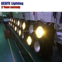 4 PÇS/LOTE 4x100watt 4eye luz blinder matriz cob COB LEVOU Lavar DMX Do Estágio de Alta potência