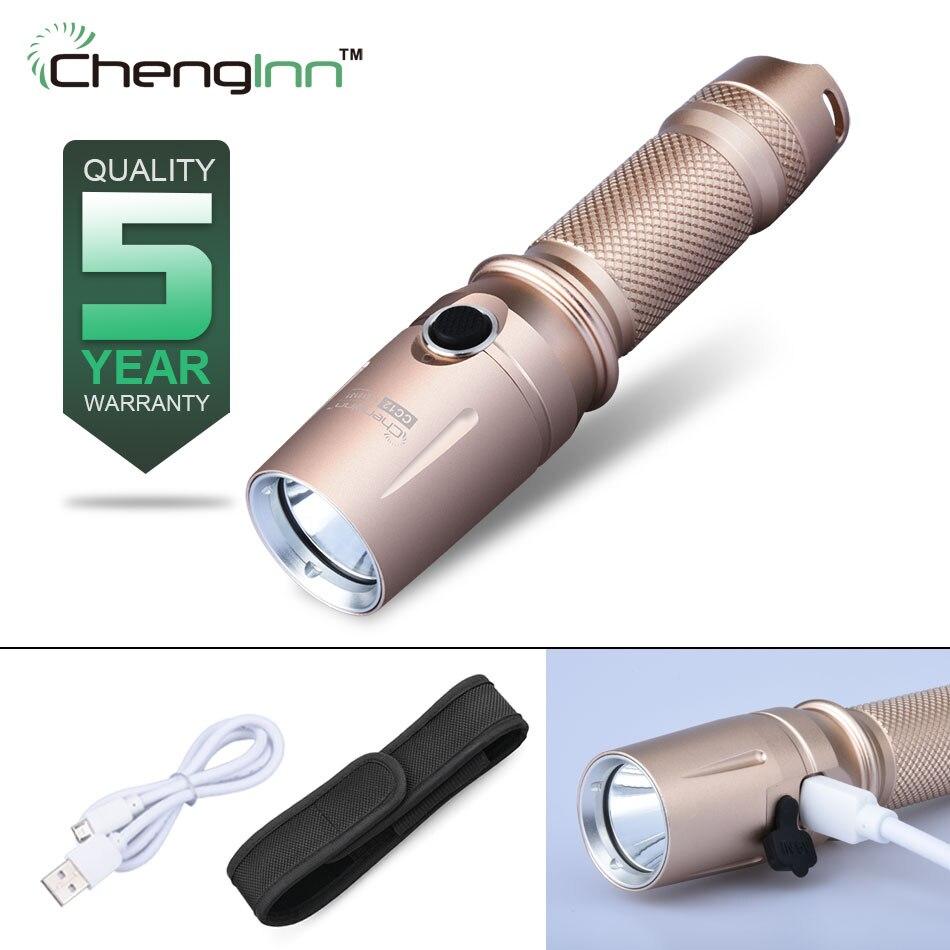 CREE XM-L T6 Rechargeable flashlight Usb Convoy FlashLight Aluminum alloy camping hiking flashlight 18650 lanterna led Chenglnn tt tf ths 02b hybrid style black ver convoy asia exclusive