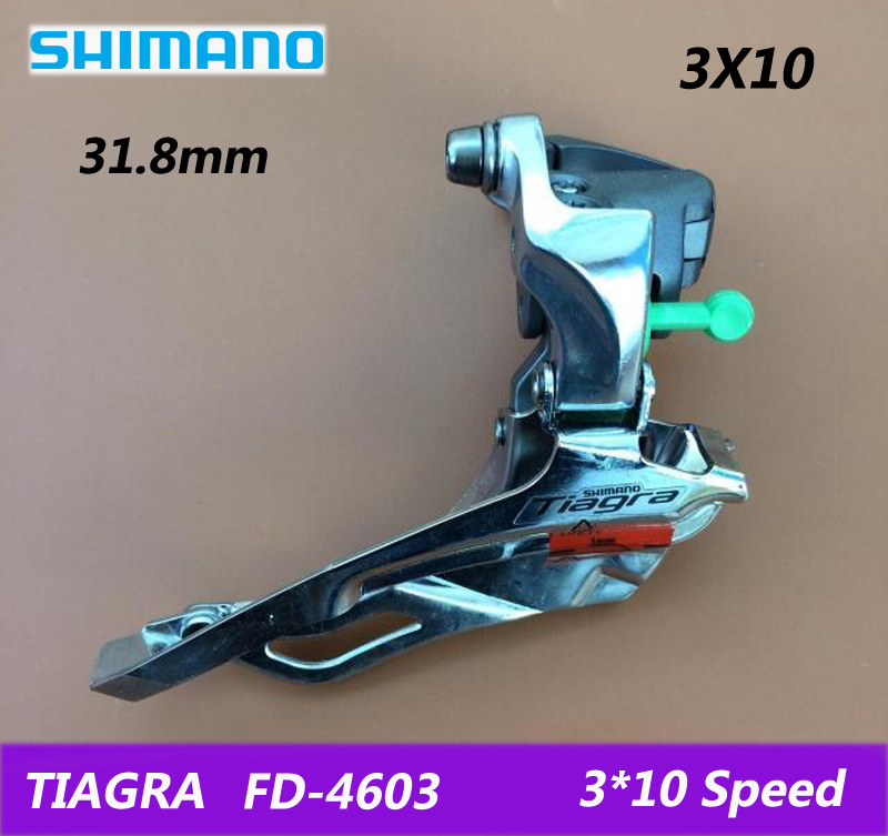 SHIMANO SORA / TIAGRA road bike folding car Front derailleur FD-3503/4603 bicycle parts switch 3X9/10 speed free shipping shimano sora fc 3503 3x9 speed road bike bicyclecrankset 50 39 30t with bb