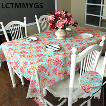 Modern style high-end restaurant tablecloth, waterproof and wear-resistant household tablecloth