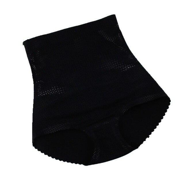 Breathable Padded panties Sexy Women High waist Boyshort booty Butt lift hip abundant buttock booster boxer fake ass Shaper 2
