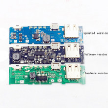 compare prices on mobile power bank circuit board online shopping5v 1a 2 1a mobile power bank charger circuit board step up boost power supply module