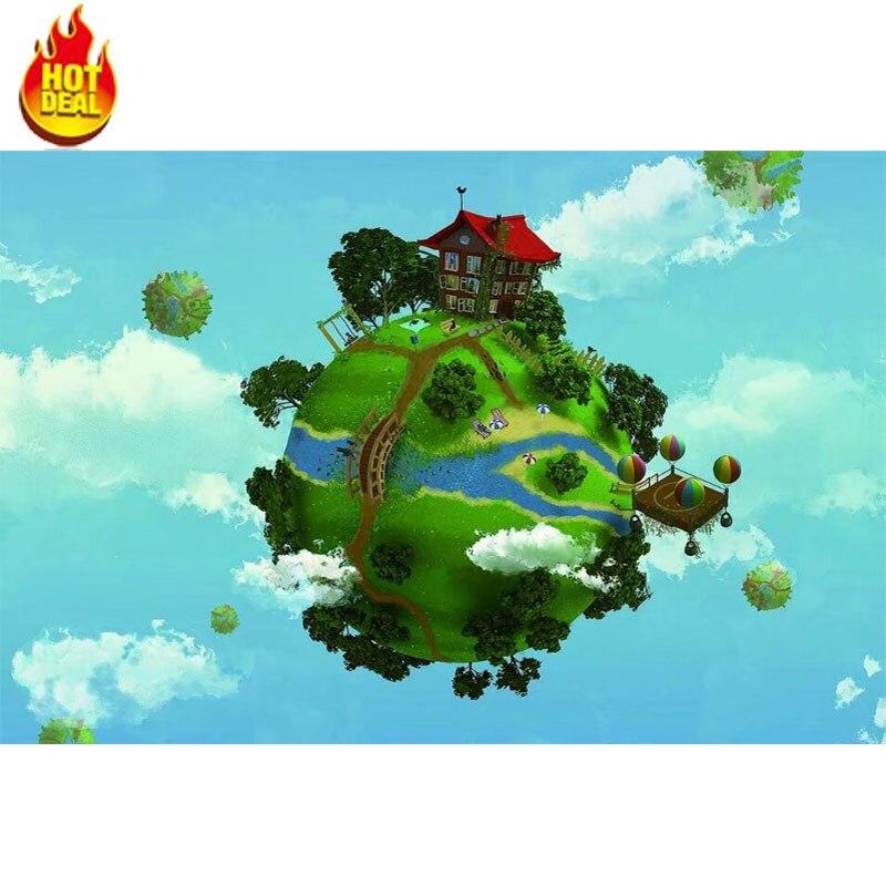 Rujin 1000 шт. головоломки дети головоломки раздел версия Sky Главная узор развивающие игрушки сборка украшения