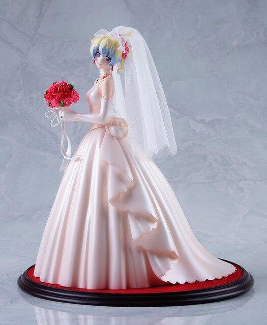 26 cm anime gurren lagann nia teppelin vestido de novia ver 1/8