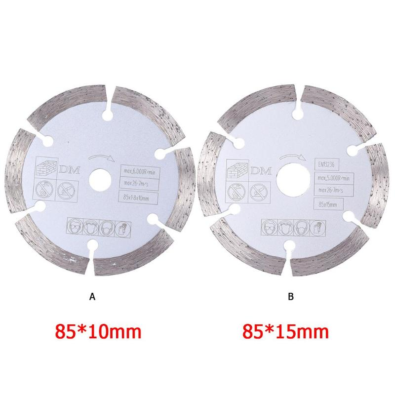 85mm Circular Saw Blade Professional Round Diamond Wheel Discs For Woodworking Metal Plastic Cutting Electric Tool Fittings