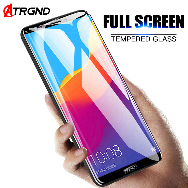 <font><b>5D</b></font> Full Curved Tempered <font><b>Glass</b></font> On The For <font><b>Huawei</b></font> P9 Lite 2017 P10 Plus Screen Protector Film For <font><b>Honor</b></font> 10 <font><b>9</b></font> Lite 9i Cover <font><b>Glass</b></font> image